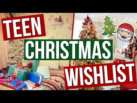 Christmas Wishlist for Teenage Girls! Christmas Wishlist 2016!