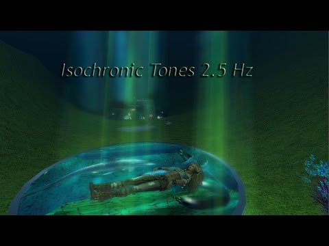1 Hour - Delta Waves, Insomnia, Melatonin, etc (Isochronic Tones 2.5 Hz) Pure Series