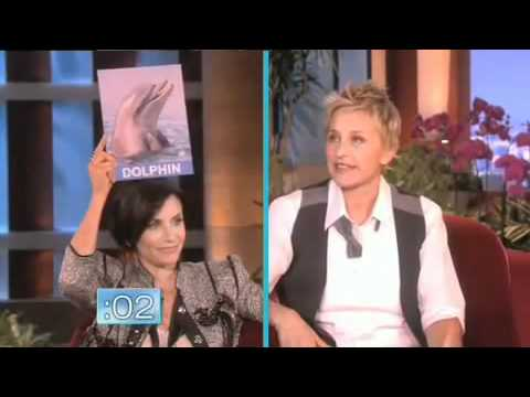 Courteney Cox on Ellen - YouTube