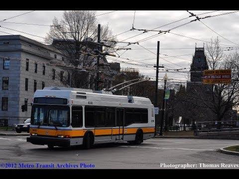 Massachusetts Bay Transportation Authority 2003 Neoplan Trackless Trolley #4125