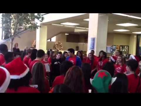 Sam Houston Middle School Carol of The Bells