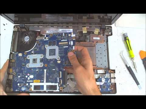 Acer Aspire 5742 Disassembly / Fan Cleaning