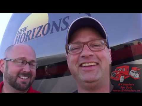 New Horizons RV Custom Travel Trailer New Ideas
