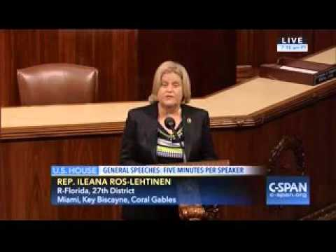 Ros-Lehtinen On The House Floor: Agreement With Colombian Government In Havana Empowers FARC Leaders