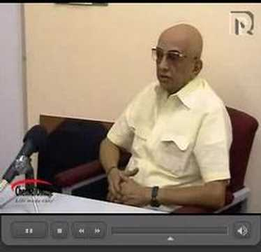 Cho Ramaswamy interview of 03-02-08 part 1 of 4