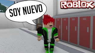 MY FIRST TIME IN COLLEGE - ROLEPLAY ROBLOX