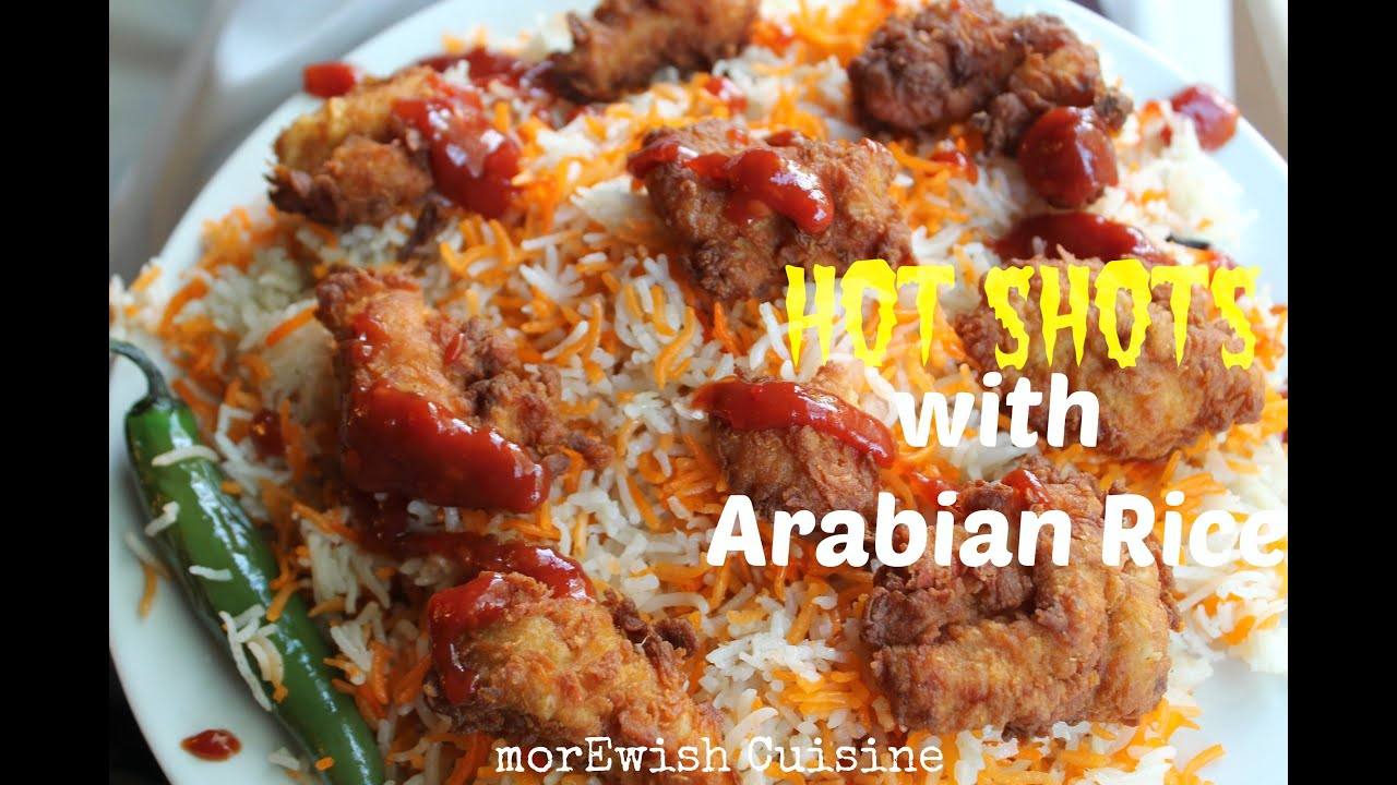 Hot shots with arabian rice kfc style food from scratch recipe hot shots with arabian rice kfc style food from scratch recipe by morewish forumfinder
