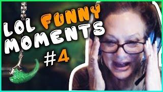 Streamer's MOM Insane Thresh Hook ?!   Boxbox Unreal Escape   LOL Funny Moments #4