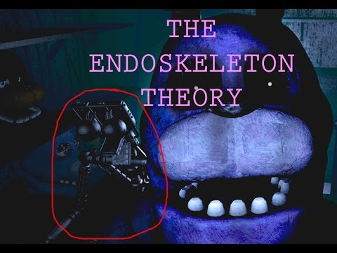 THE ENDOSKELETON THEORY! - Five Nights At Freddy's Theories and Rumors and Rumors