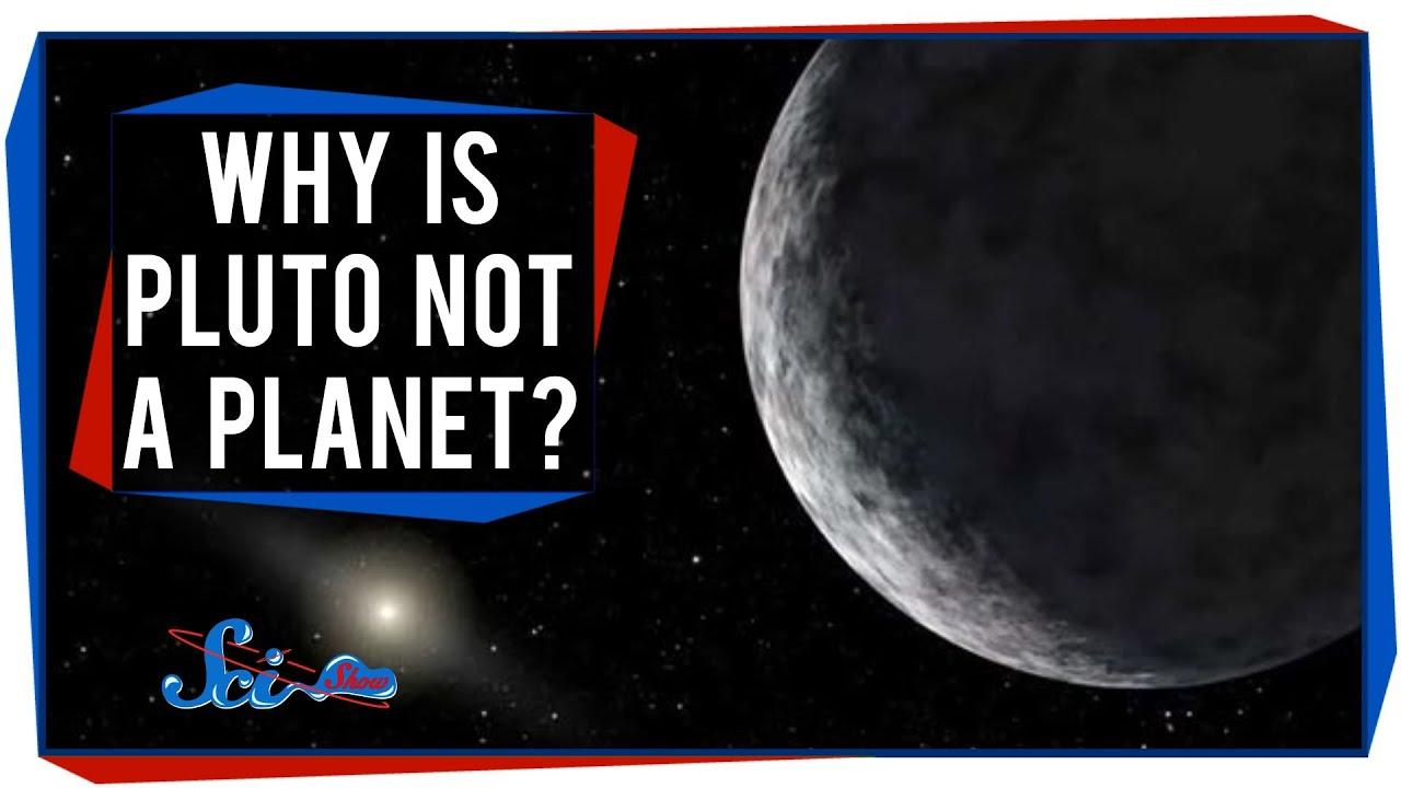 Why Is Pluto Not A Planet? - YouTube