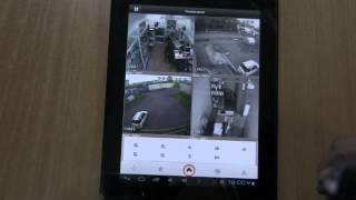 gDMSS Light видеонаблюдение с регистратора на Андроид устройстве(Просмотр видео с видеорегистратора через интернет. gDMSS Light обзор бесплатного мобильного приложения для..., 2013-06-16T23:37:45.000Z)