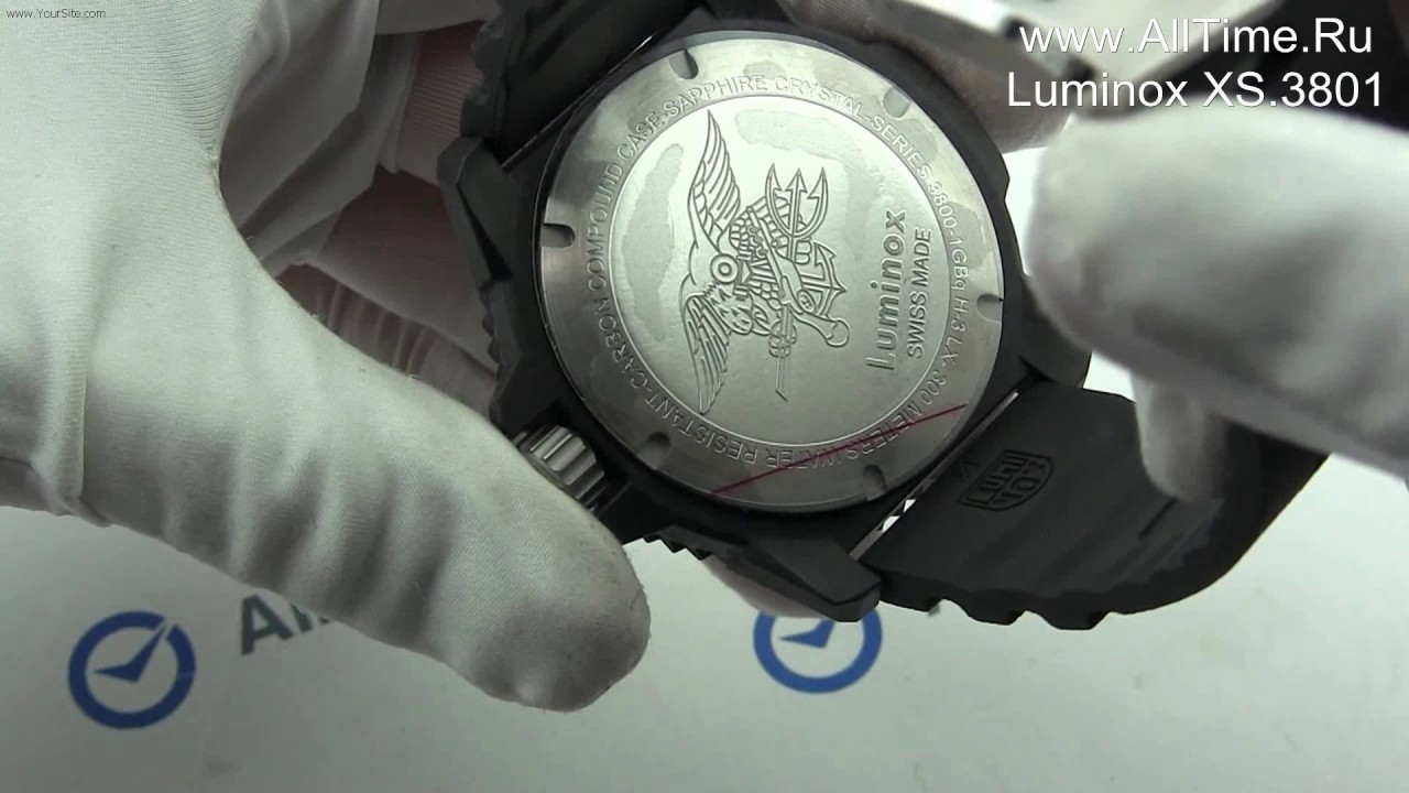 Обзор. Мужские наручные часы Luminox XS.4241 с хронографом - YouTube