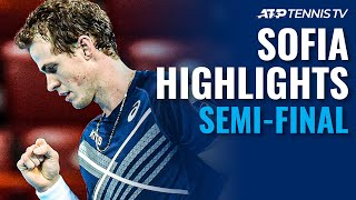 Mannarino vs Sinner; Pospisil vs Gasquet | Sofia 2020 Semi-Final Highlights