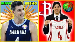 Can LUIS SCOLA Win ARGENTINA The FIBA World Cup At ALMOST 40 YEARS OLD?
