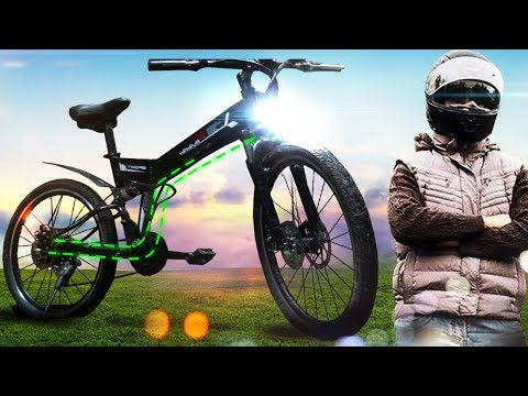 I bought cheap electric bike at Aliexpress