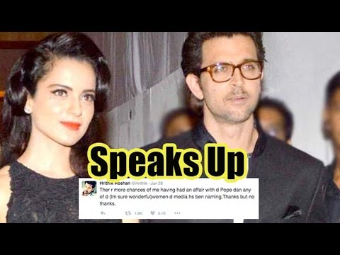 Kangana Ranaut Gives It Back To Hrithik Roshan On Insulting Tweet About Her