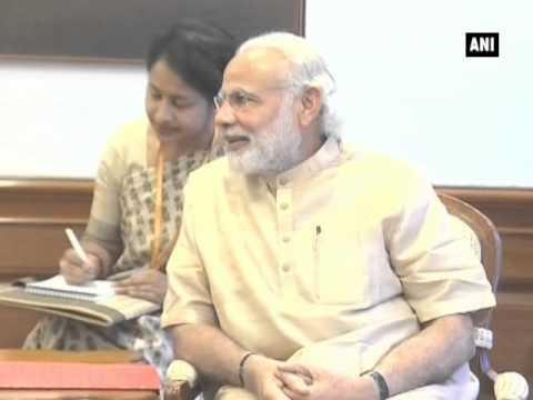PM Modi meets William J. Burns