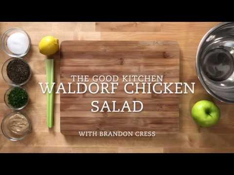 Tasty Waldorf Chicken Salad