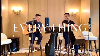 Everything - Michael Bublé Acoustic Cover by Joven Goce ft. Faizul (Sound Check)