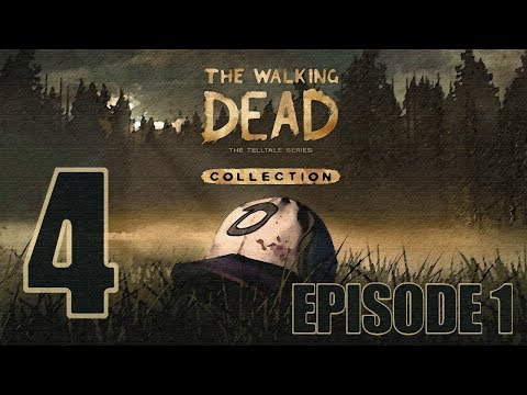 The Walking Dead Collection Season 1 Episode 1 Gameplay Walkthrough HD - Pharmacy Keys - Part 4