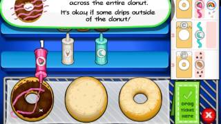Papa's Donuteria (Папа Луи: Пончики) - прохождение игры