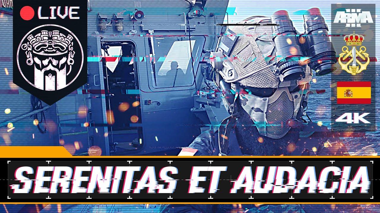 OPERACIÓN SERENITAS ET AUDACIA 2 - ARMA3 4K - FGNE - SQUAD ALPHA - DIABLO HELMETCAM - Español