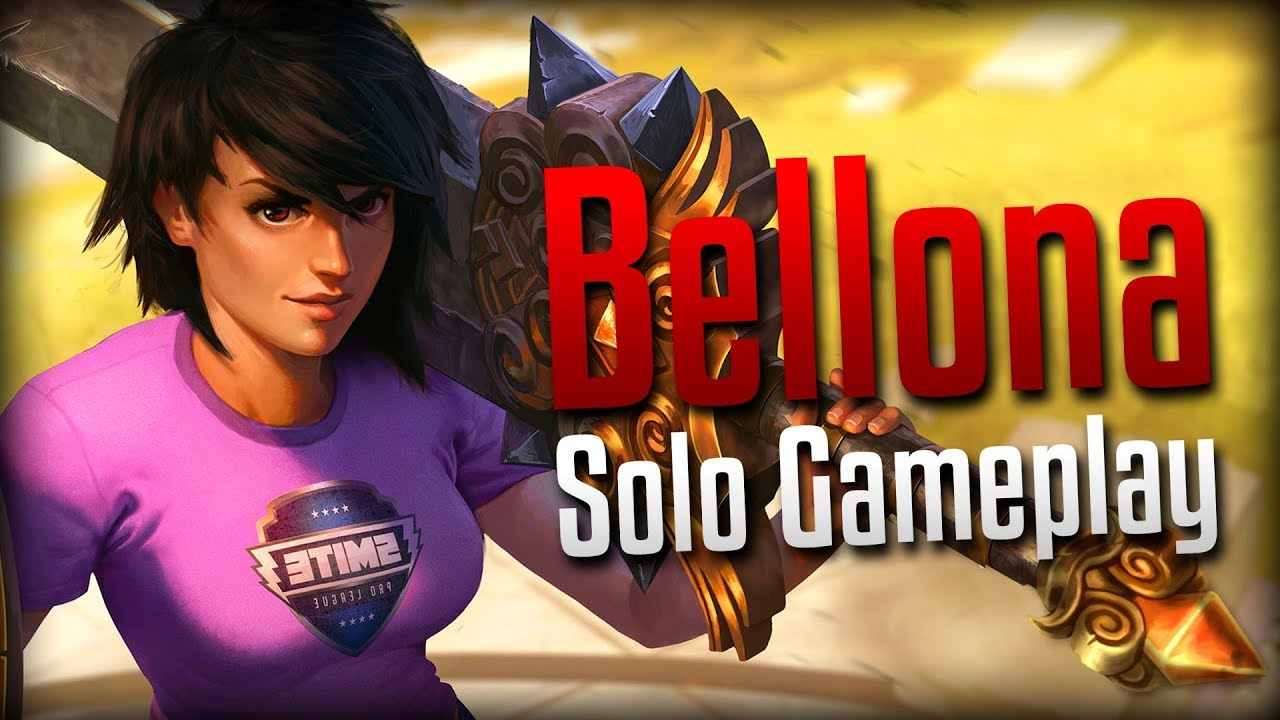 Smite It Took Months Pro League Bellona Solo Gameplay Youtube