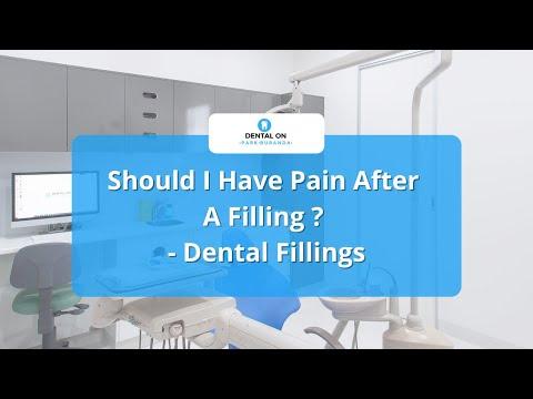 should-i-have-pain-after-a-filling-?---dental-fillings