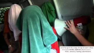 Sorority girls hazing video - hazeher