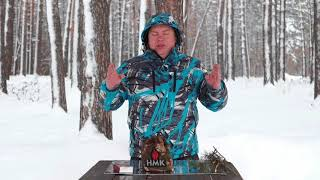 Чудо-піч ''Сибір похідна'' є мобільною піччю, що працює на щепках і дрібних дровах