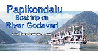 Papikondalu Badrachalam on river Godavari boat trip in Telangana