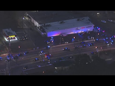 Police officer shot in DeKalb County - Raw video
