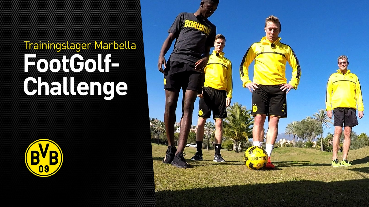 FootGolf mit Dembélé, Pulisic, Passlack und Burnic (2/3) | Trainingslager in Marbella 2017