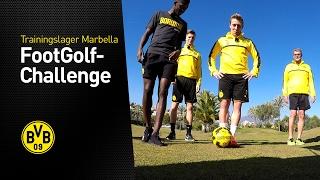 FootGolf mit Dembélé, Pulisic, Passlack und Burnic (2/3) | Trainingslager in Marbella 2017