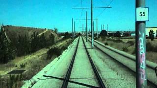 Tranvia de Parla - Via 1 - Poligono Industrial Ciudad de Parla - Plaza de Toros