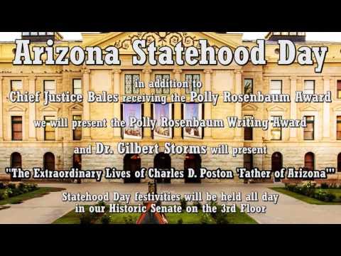 Celebrate Arizona's 104th birthday as a state!