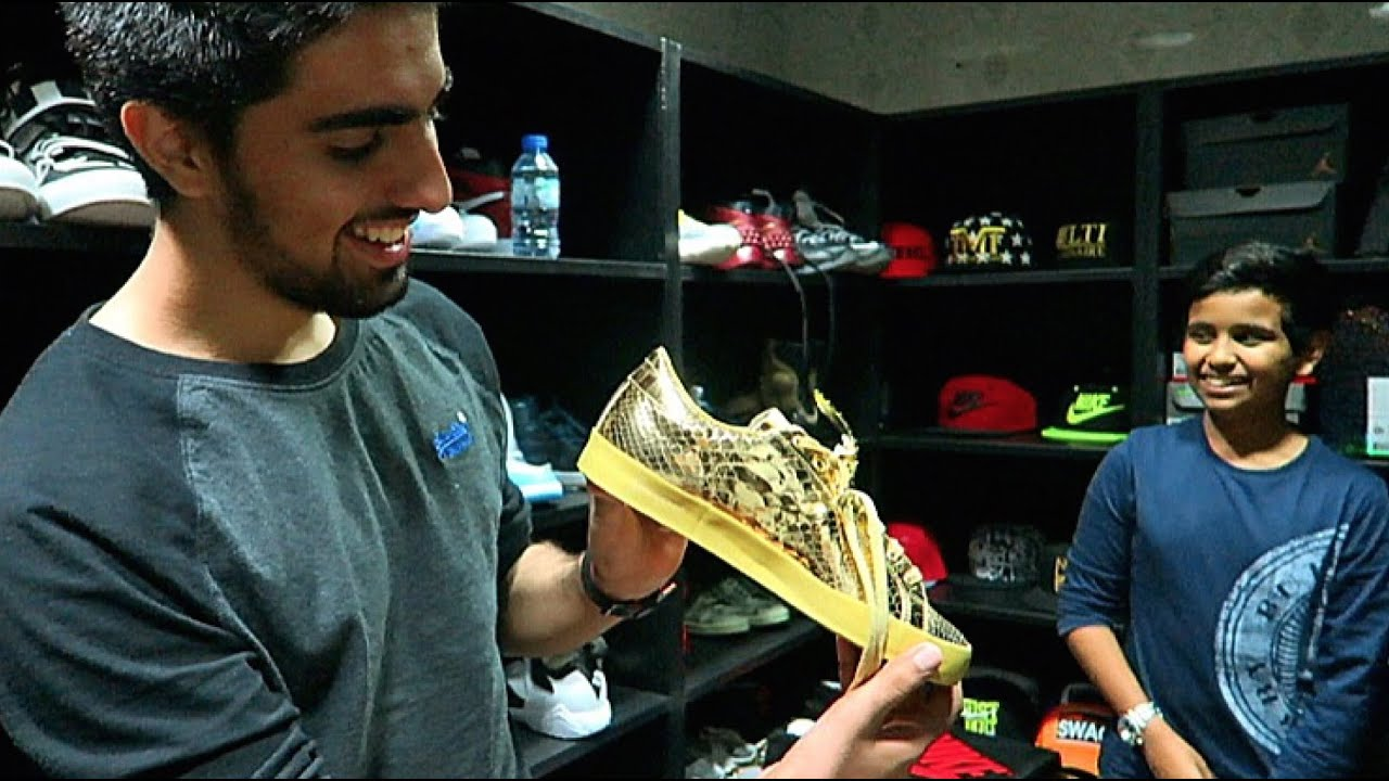 7cb4527ed1a539 Dubai s Most Expensive Sneaker Collection !!! - YouTube