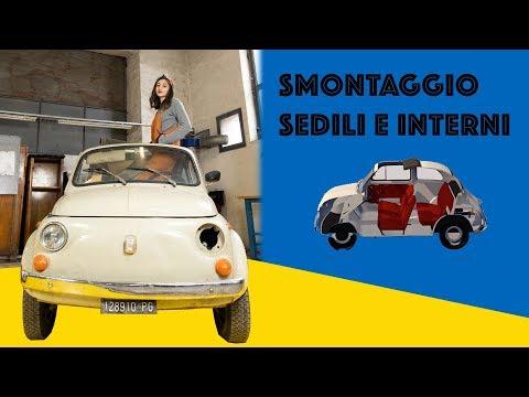 Smontaggio || Sedili e interni || Fiat 500