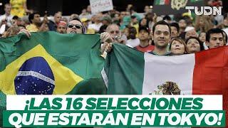 ¡POR EL ORO! Estás son las selecciones que enfrentará México en los JJOO Tokyo 2020 I TUDN