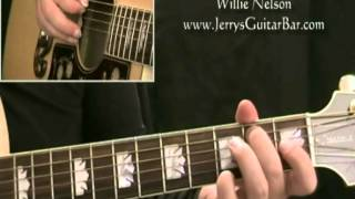How To Play Willie Nelson Nothing I Can Do About it Now - intro only