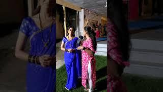 Mamta Soni on the shoot of Rakhewal movie