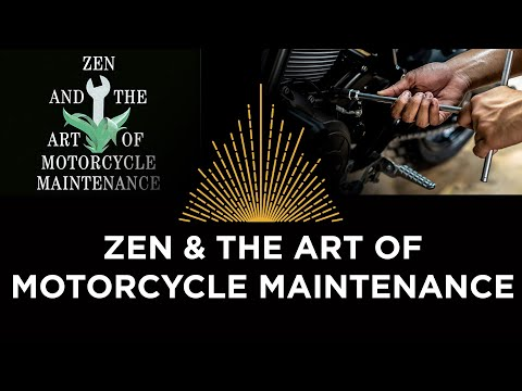 Zen & the Art of Motorcycle Maintenance, Book Club with Jonathan Rowson