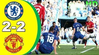 CHELSEA 2-2 MANCHESTER UNITED | All Goals & Highlights Premier League 20 Oktober 2018