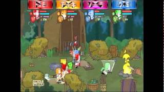 〔PS3〕 Castle Crashers PART-2 アッキの実況プレイ