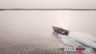 Ranger Aluminum VS1882DC On Water Footage