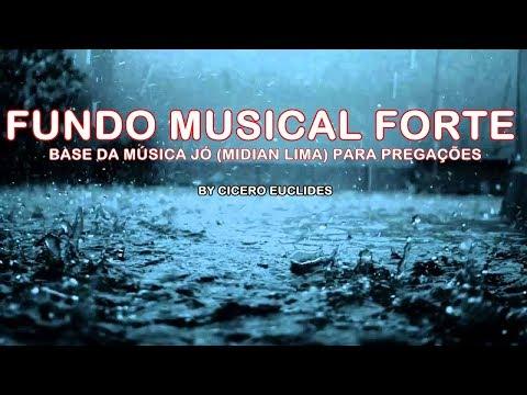 Fundo Musical Forte - Jó -  Base sem solo Para Pregações by Cicero Euclides