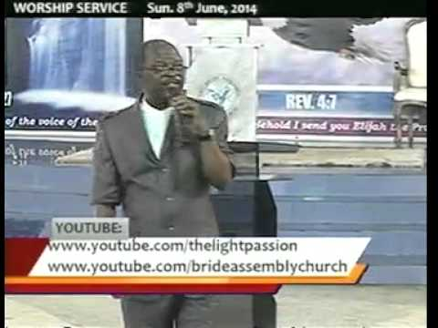#Pastor Moses Alu #Understanding The End-Time Anointing