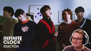 """Infinite (인피니트) """"clock"""" official mv - first time listening to reaction!"""