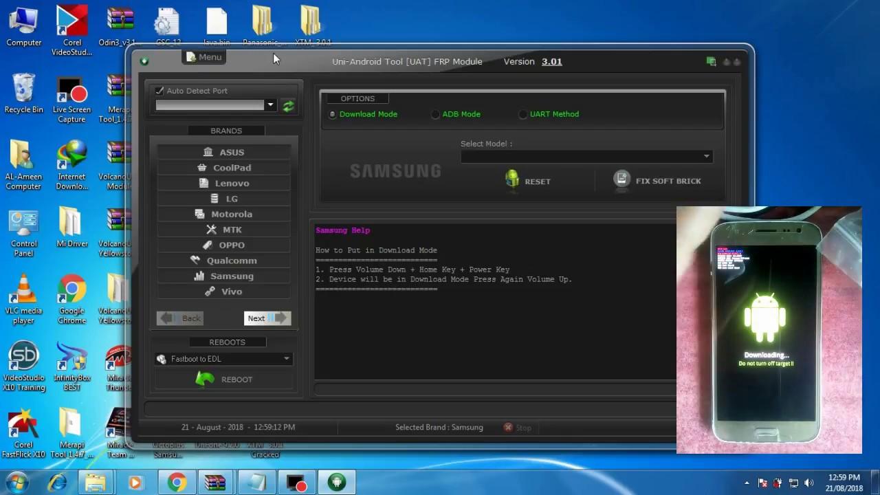 UAT_FRP 3 01 Crack/FRP Byass||Samsung, Oppo, HUAWEI, Xiaomi