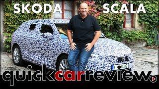 Skoda Scala - First test drive in the Skoda Rapid Spaceback successor | Review | Cars | English